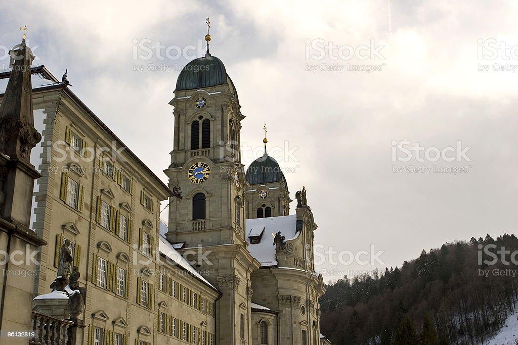Benedictine Abbey of Einsiedeln royalty-free stock photo