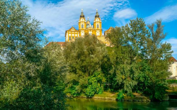 Benedictine Abbey of Melk, Austria stock photo