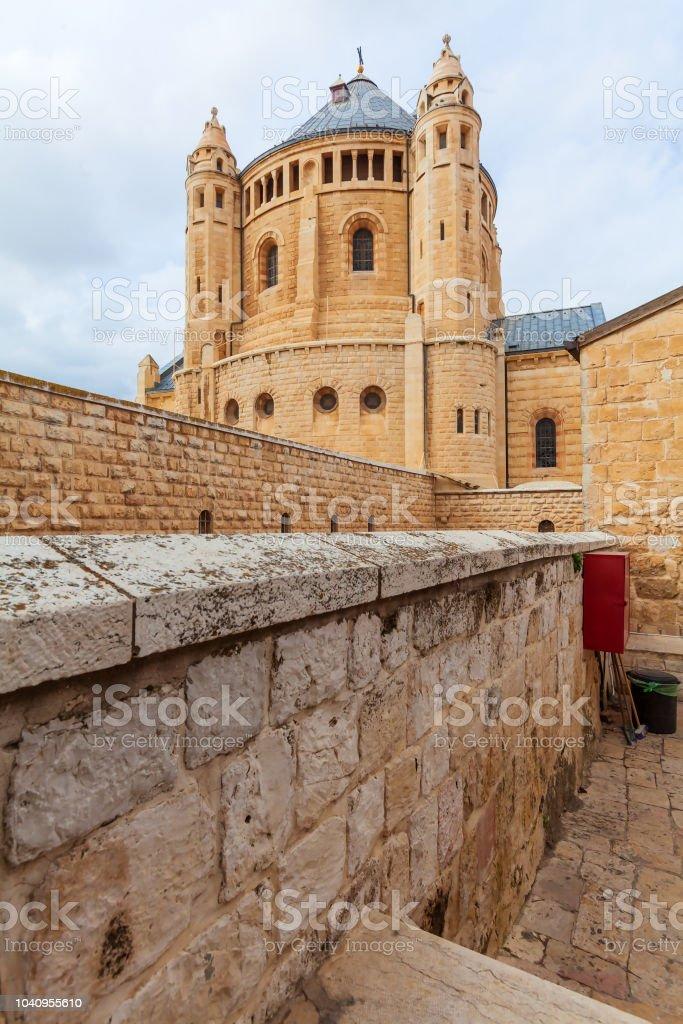 Benedictino dormición, Jerusalén abadía - foto de stock