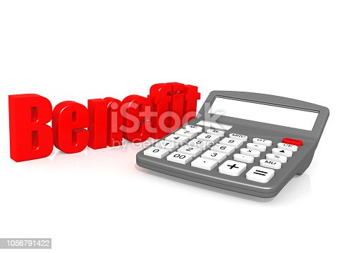 851244800istockphoto Benefit with calculator 1056791422