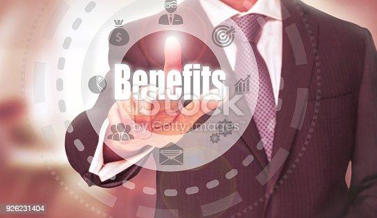 istock Benefits Concept 926231404
