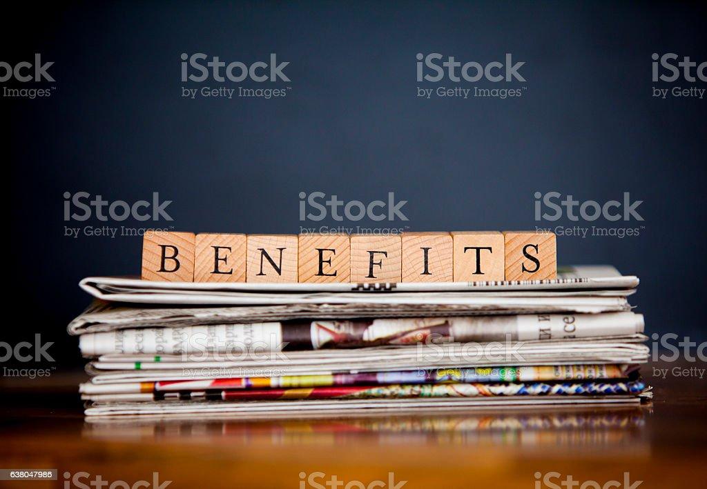 Os benefícios - foto de acervo