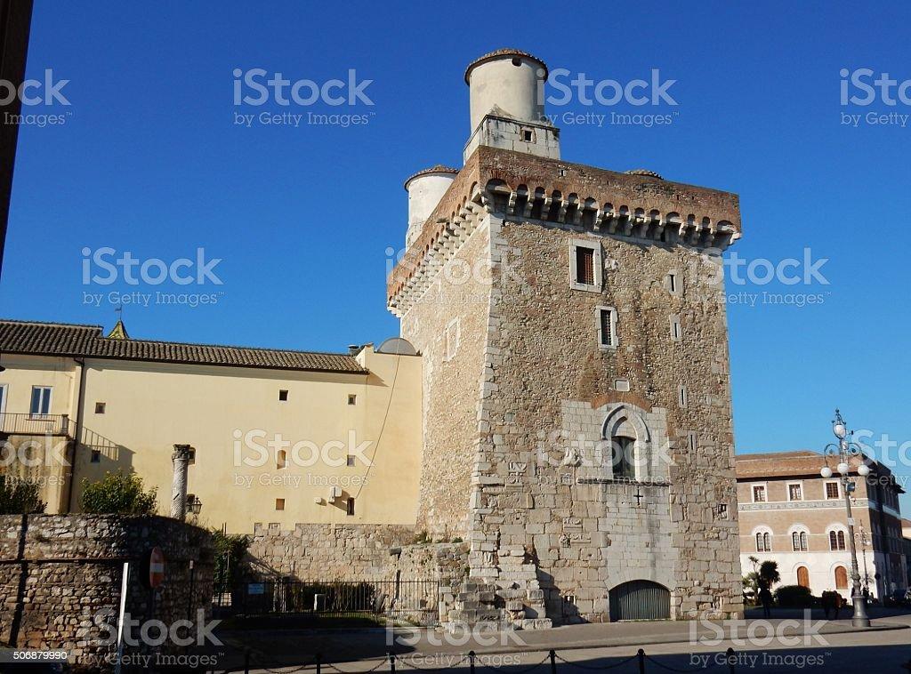 Benevento - Rocca dei Rettori - foto stock