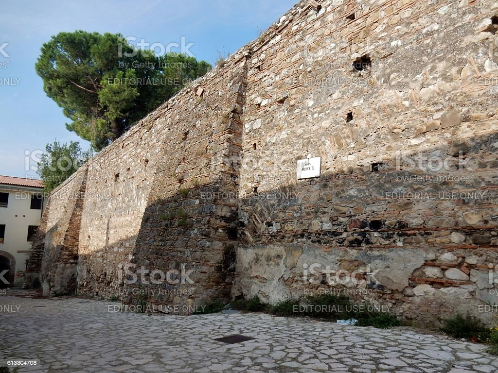 Benevento - Discesa Mercato stock photo