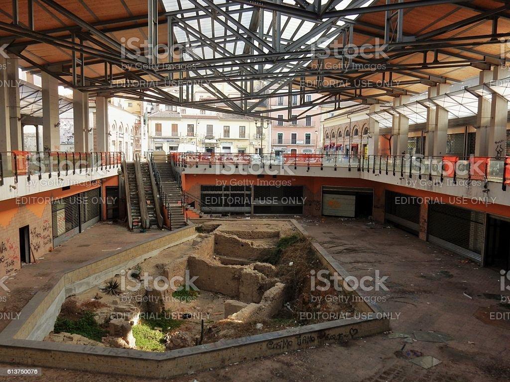 Benevento - Nuovo Mercato coperto stock photo
