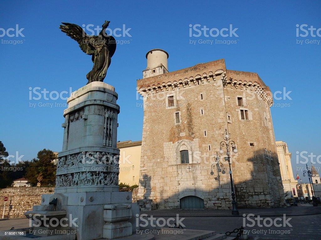 Benevento-Piazza IV novembre - foto stock