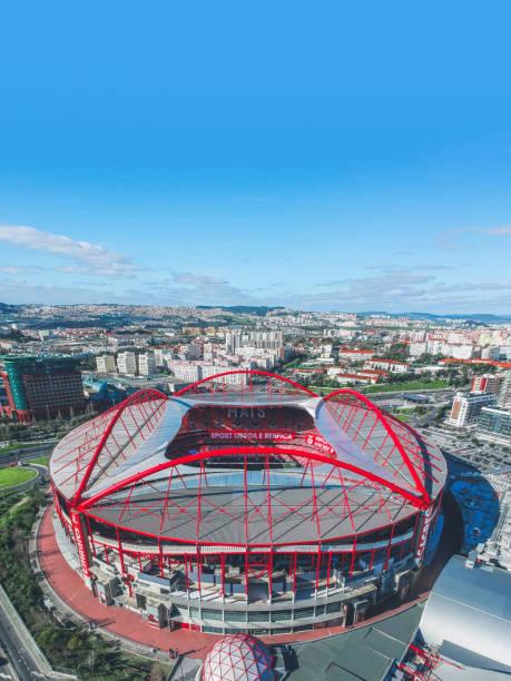 benfica stadium - estadio do benfica imagens e fotografias de stock
