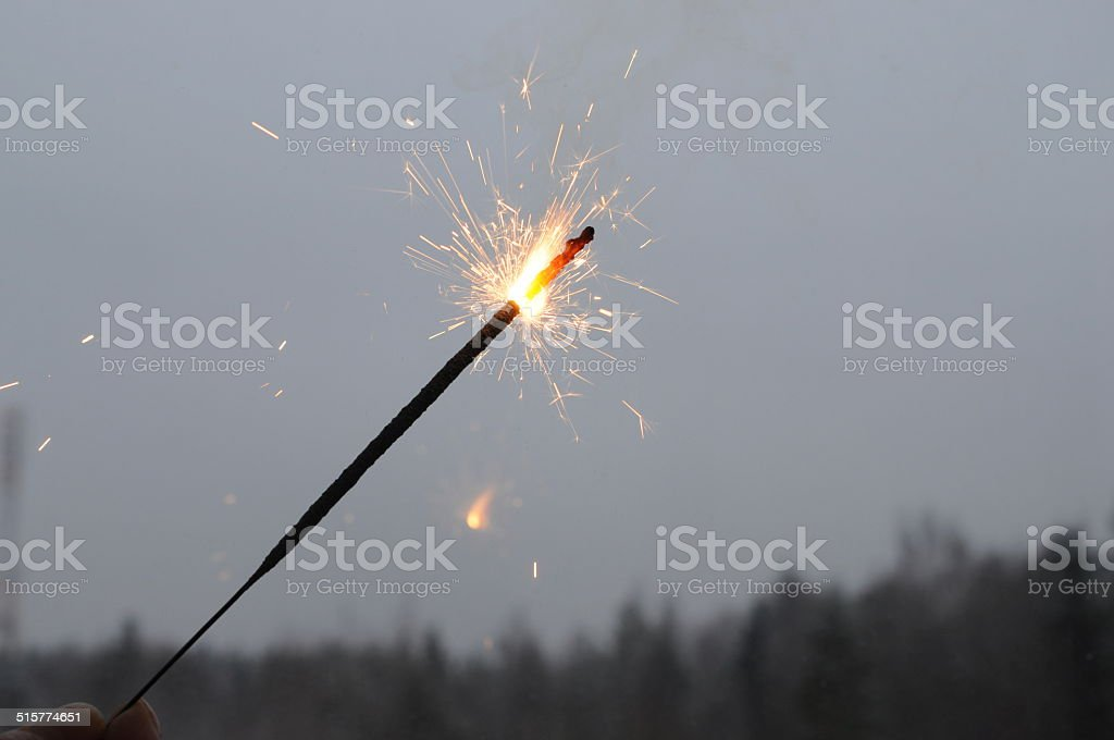 Bengal fire stock photo