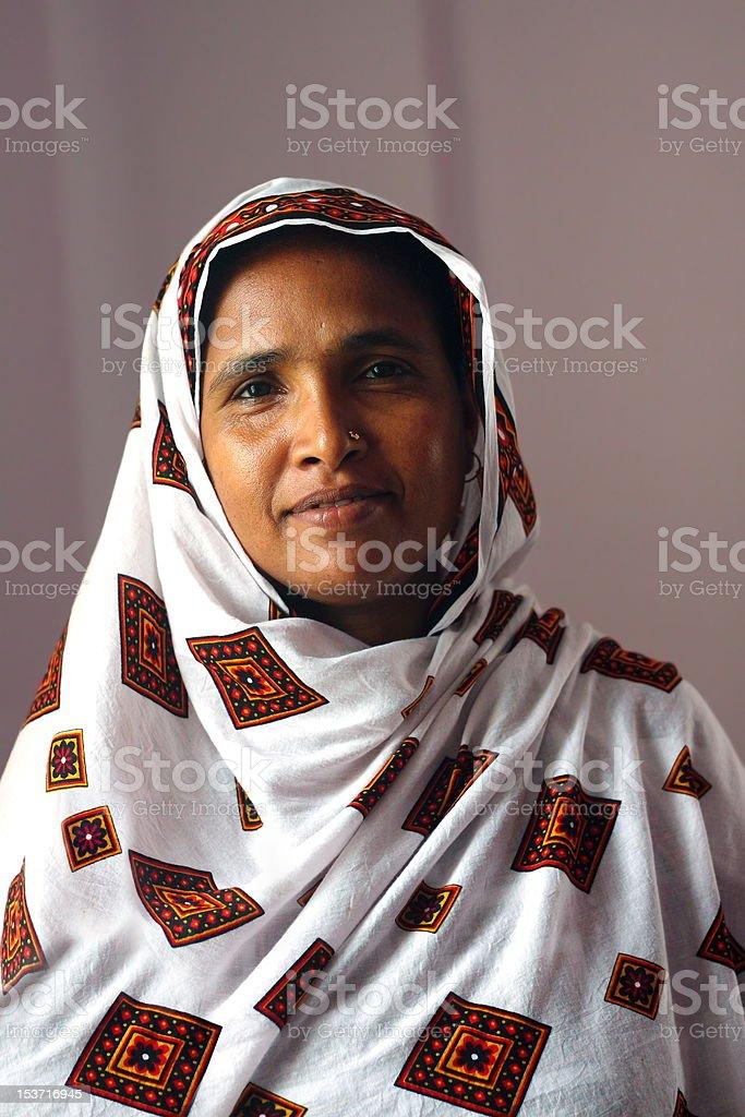 Bengali Woman royalty-free stock photo