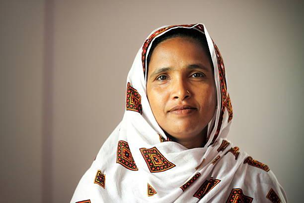 벵골어 여자 스톡 사진