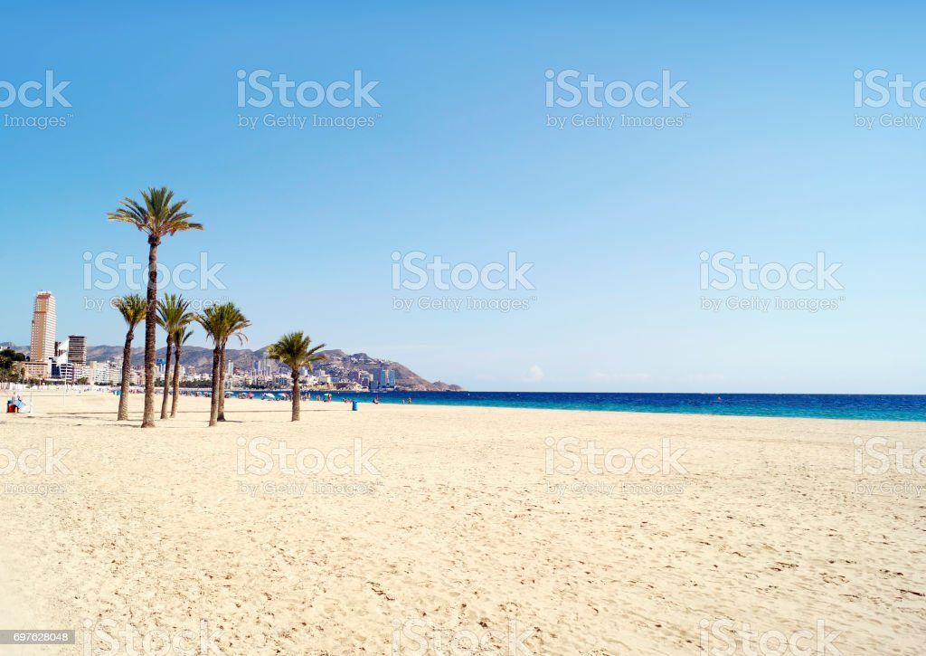 Benidorm stock photo