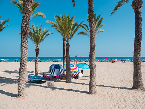 Benidorm poniente, beach, Spain