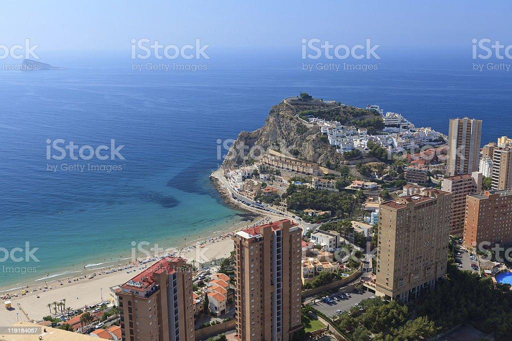 Benidorm, Spagna - foto stock