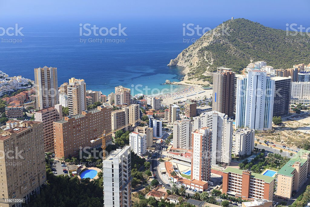 Benidorm, Spain stock photo