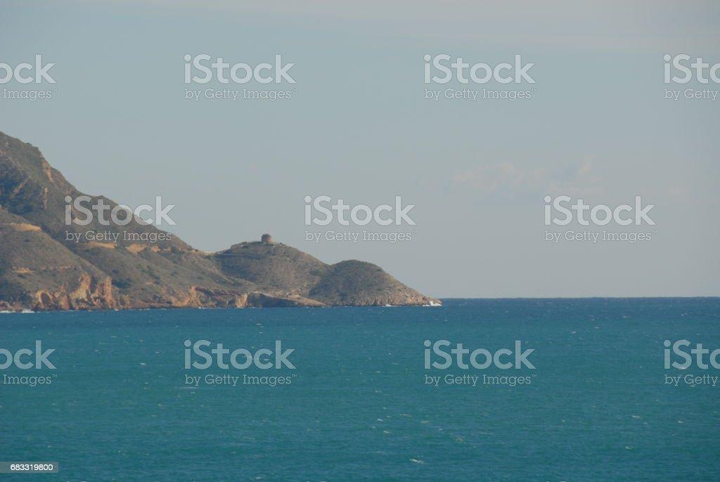 Benidorm - Stadtansichten/Skyline - Hausfassaden - Costa Blanca - Spanien royalty-free stock photo