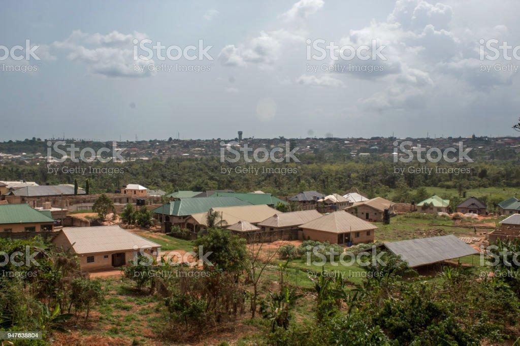 Benin City stock photo