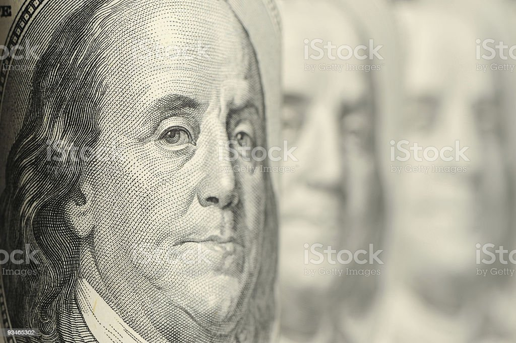 Benjamin Franklin royalty-free stock photo