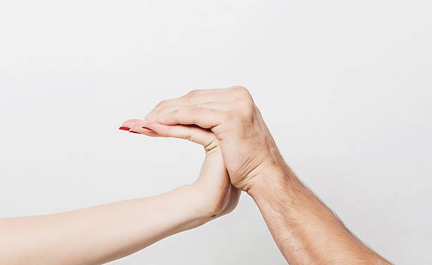 Bent hand Curious bent hand bending stock pictures, royalty-free photos & images