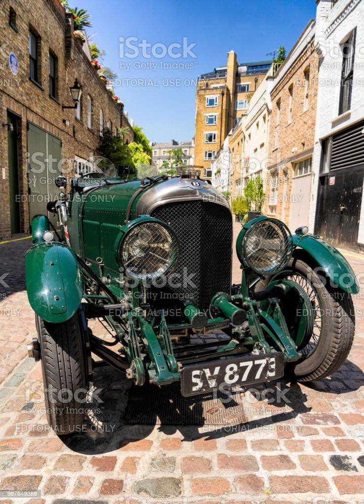 1923 Bentley 3 à 4,5 litres du Mans à Londres - Photo