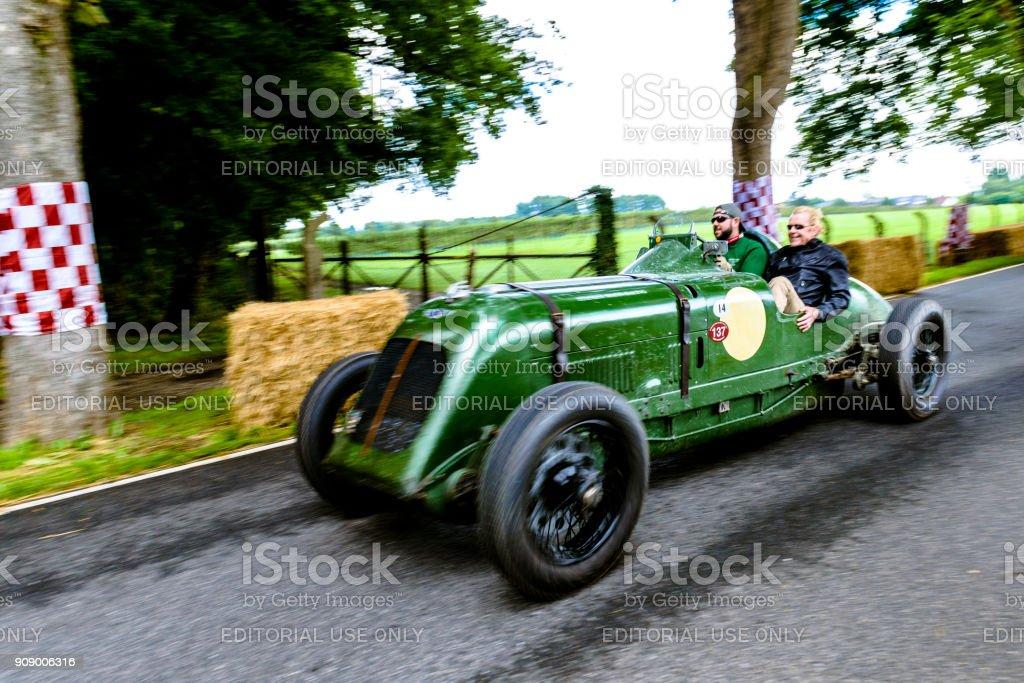 Bentley 8 litres Brooklands coureur britannique vintage voiture - Photo