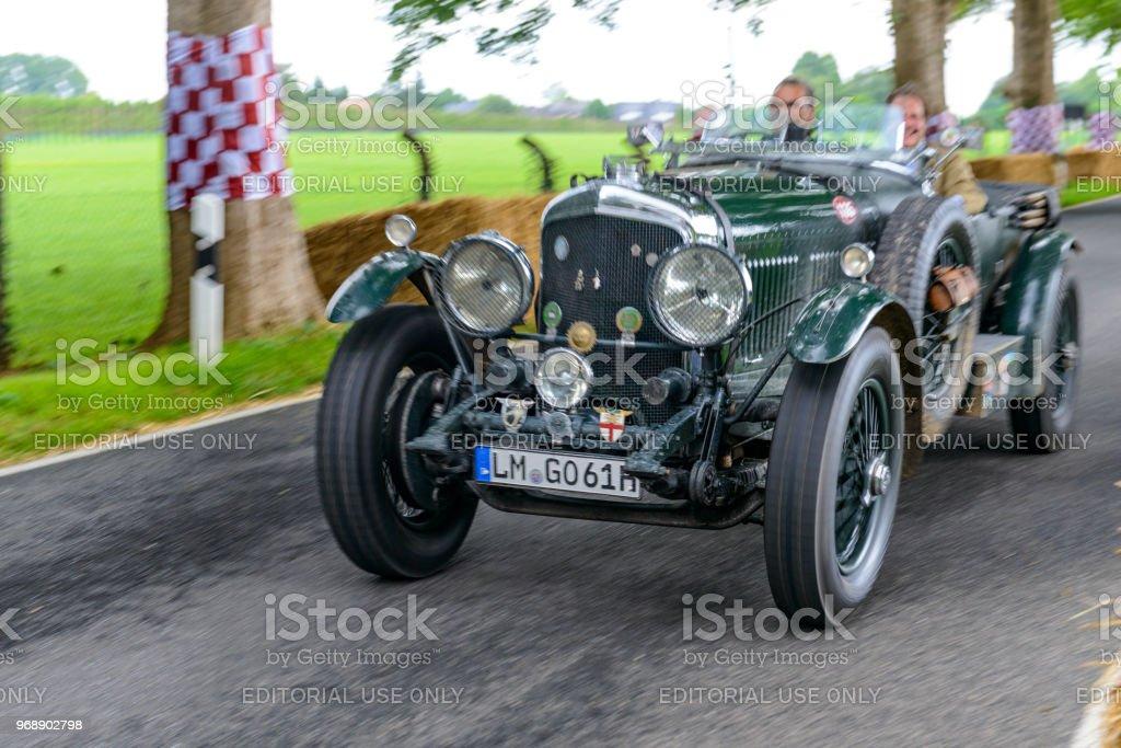 Bentley 8 Litre English 1931 Classic Car In British Racing Green