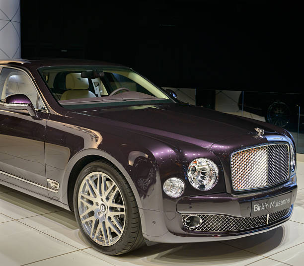 Bentley Mulsanne: Top 60 Bentley Mulsanne Interior Stock Photos, Pictures