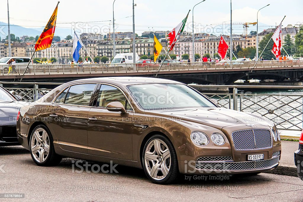 Bentley Continental Flying Spur stock photo