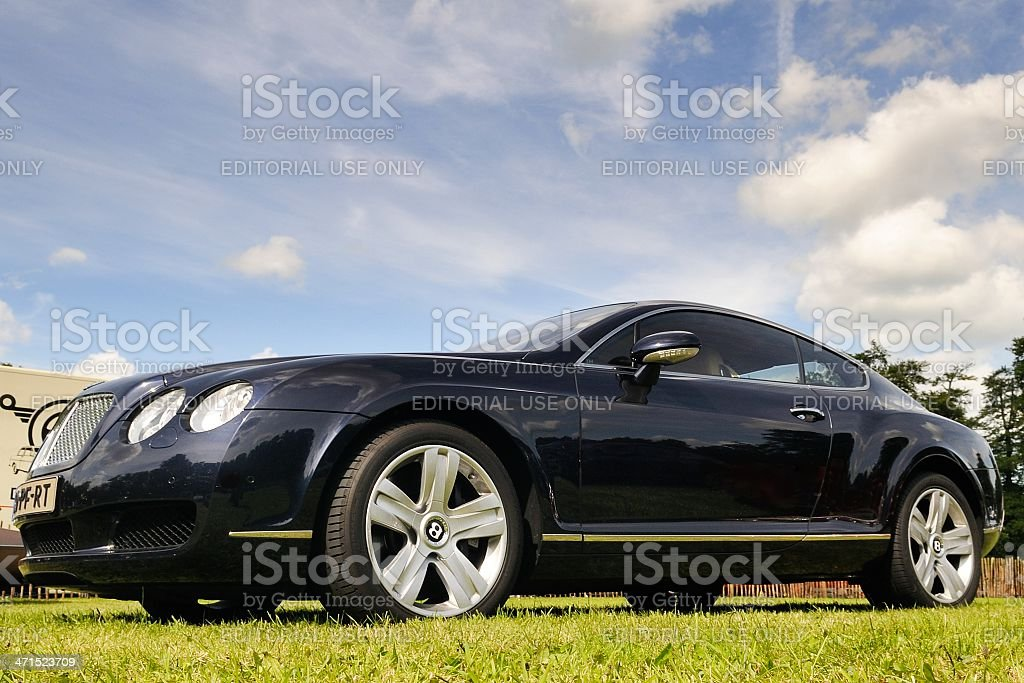 Bentley Continental GT royalty-free stock photo