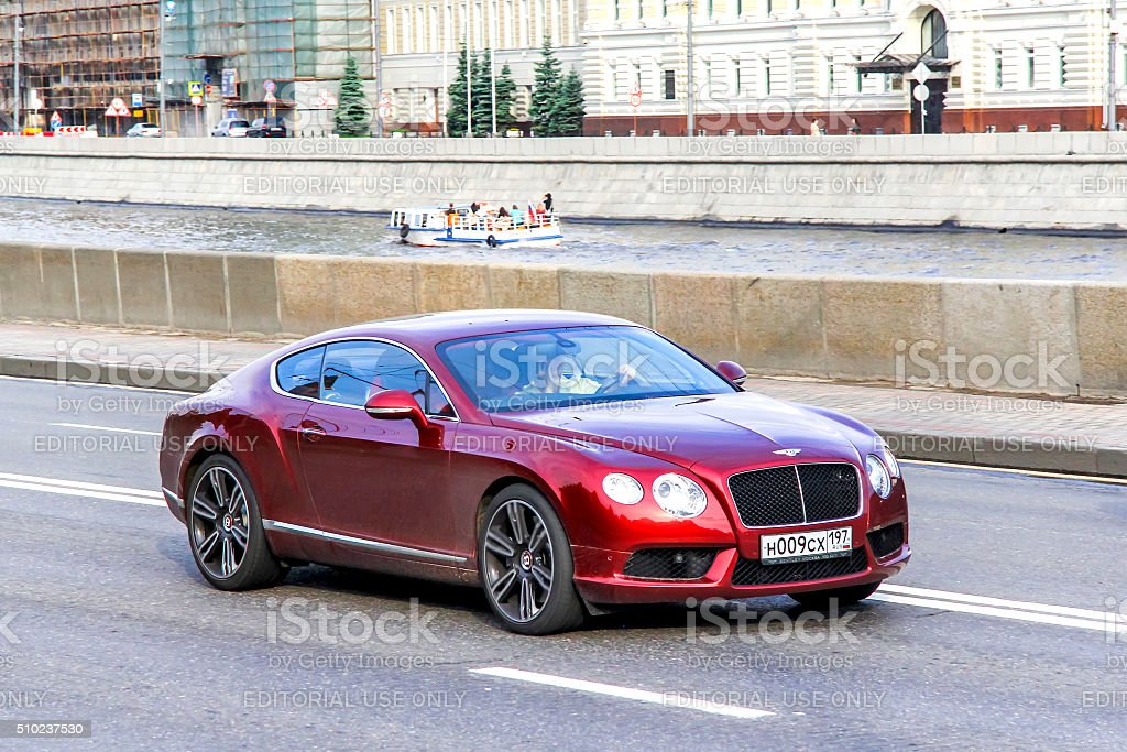 Bentley Continental GT stock photo