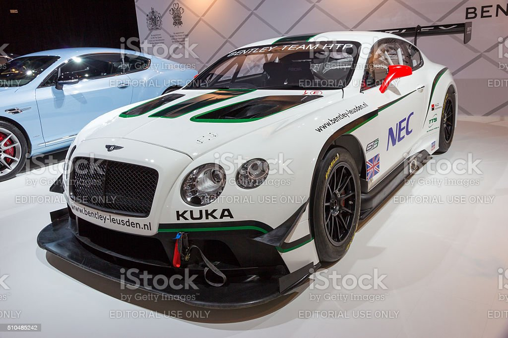 Bentley Continental GT3 stock photo