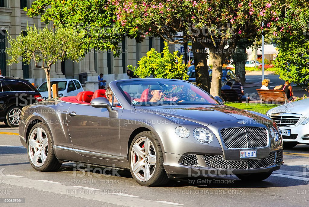 Bentley Continental GTC stock photo