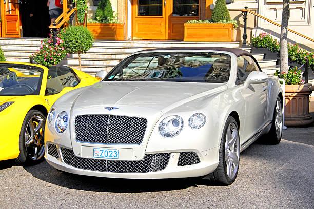 Bentley Continental GTC stock photo