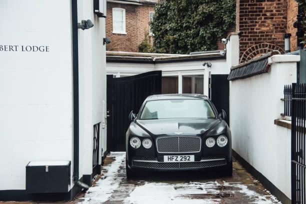 Bentley Continental stock photo