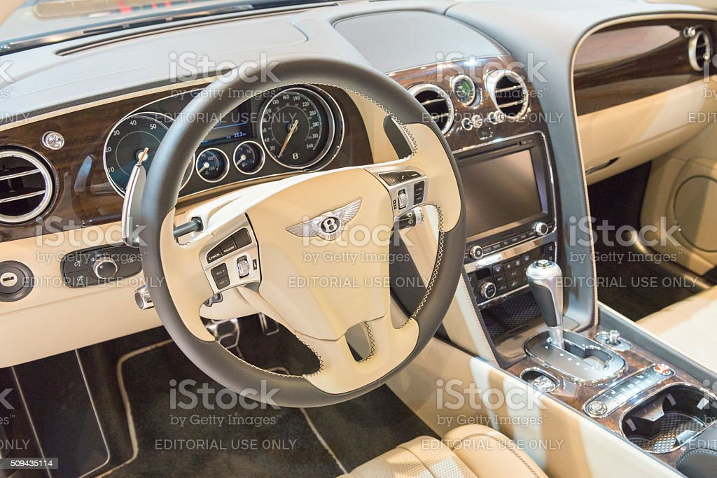 Bentley Flying Spur V8 Luxury Sedan Dashboard Stock Photo Download Image Now Istock