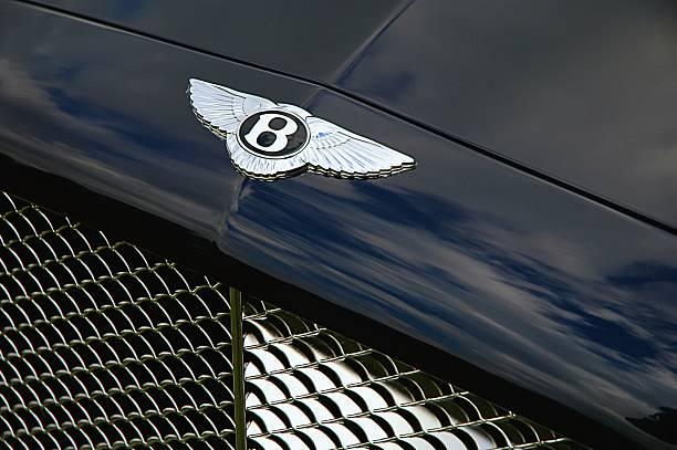 Bentley front stock photo