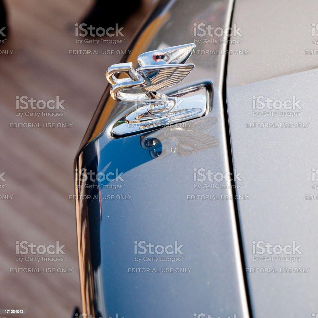Bentley Mascot stock photo