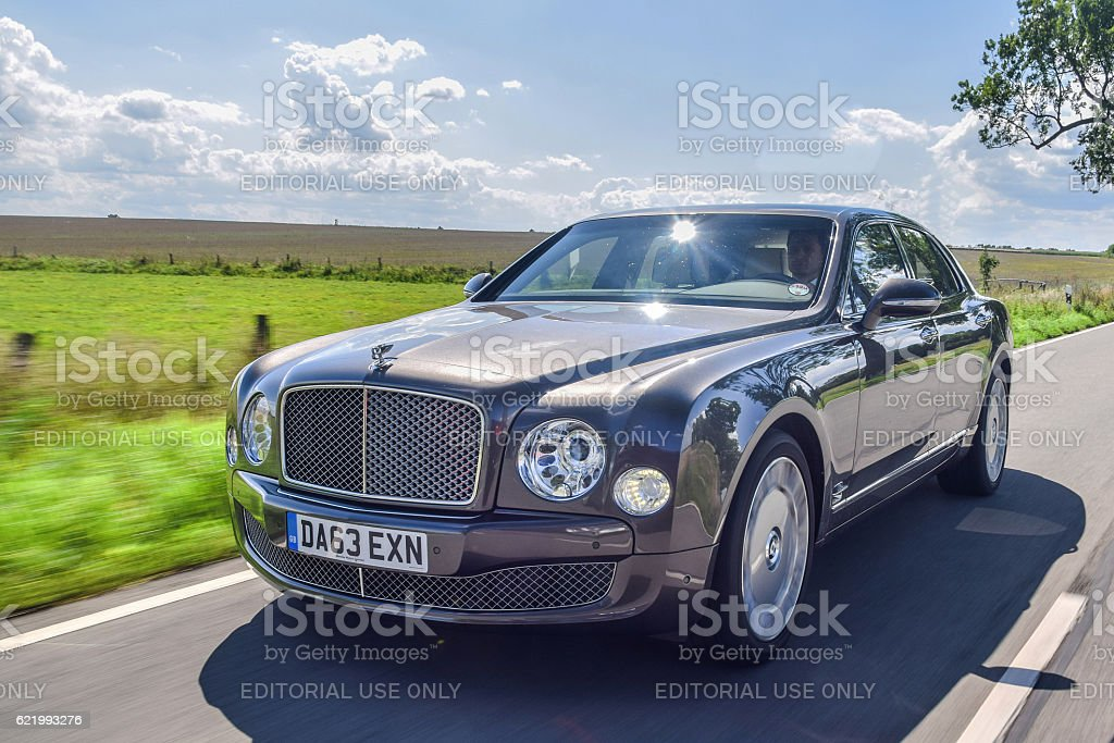 Bentley Mulsanne stock photo