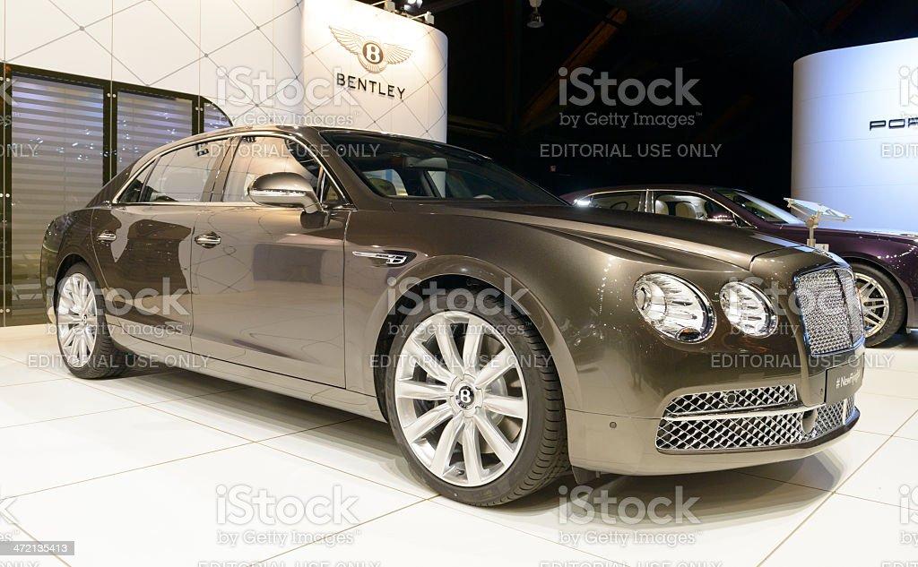 Bentley New Flying Spur stock photo