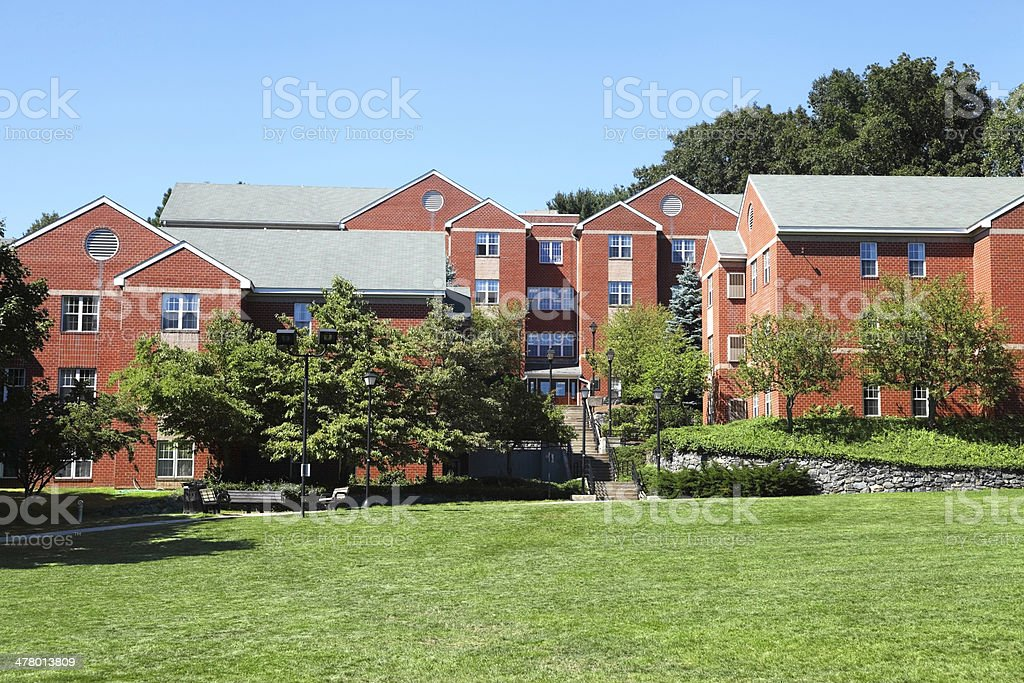 Bentley University stock photo