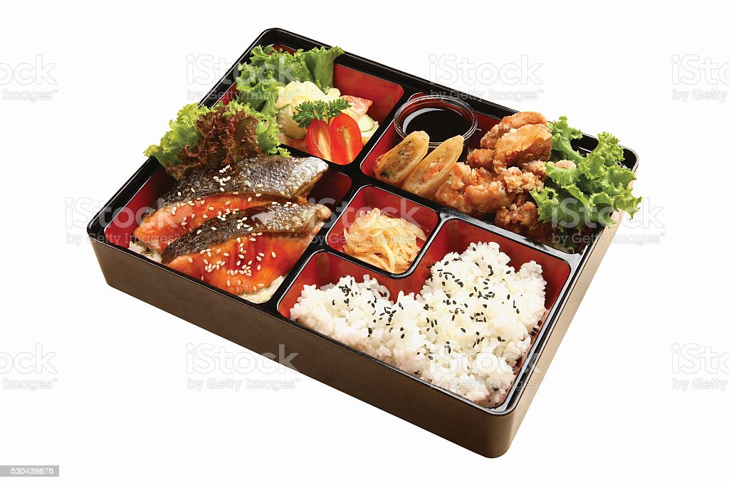 bento box - japanese food stock photo