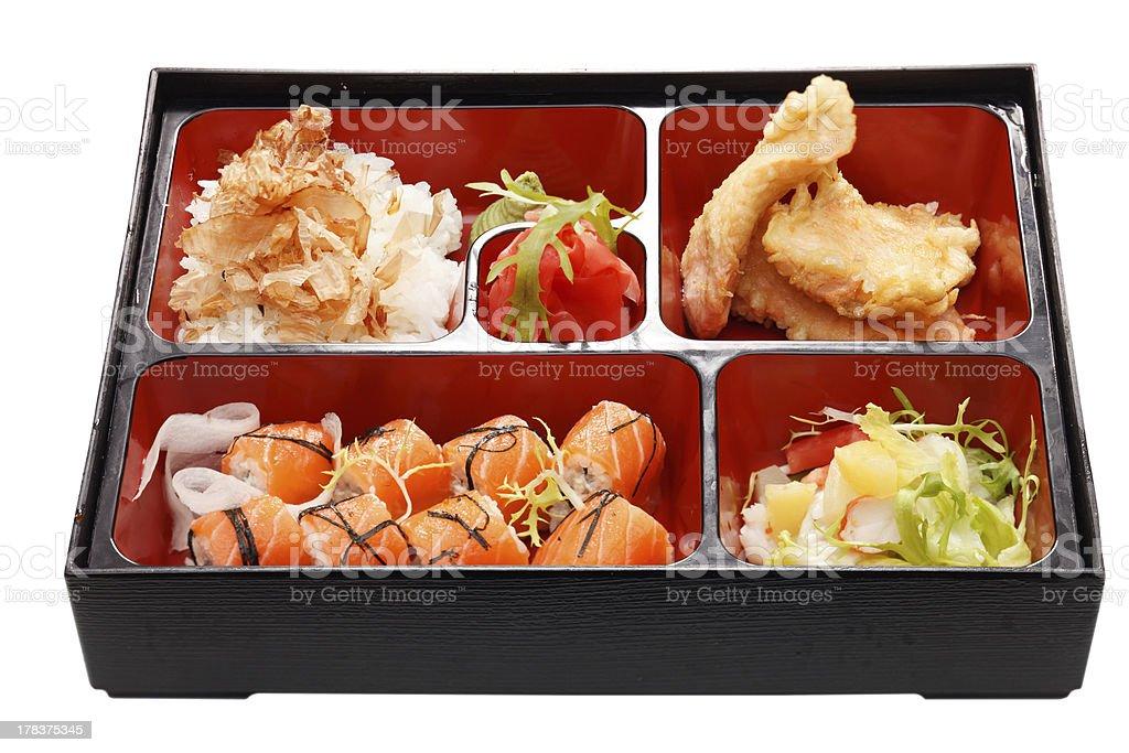 Bento japan food royalty-free stock photo