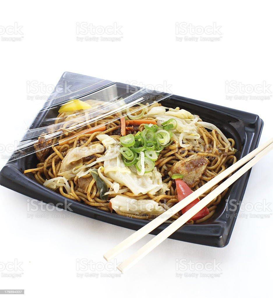 Bento lunchbox Japanese style royalty-free stock photo