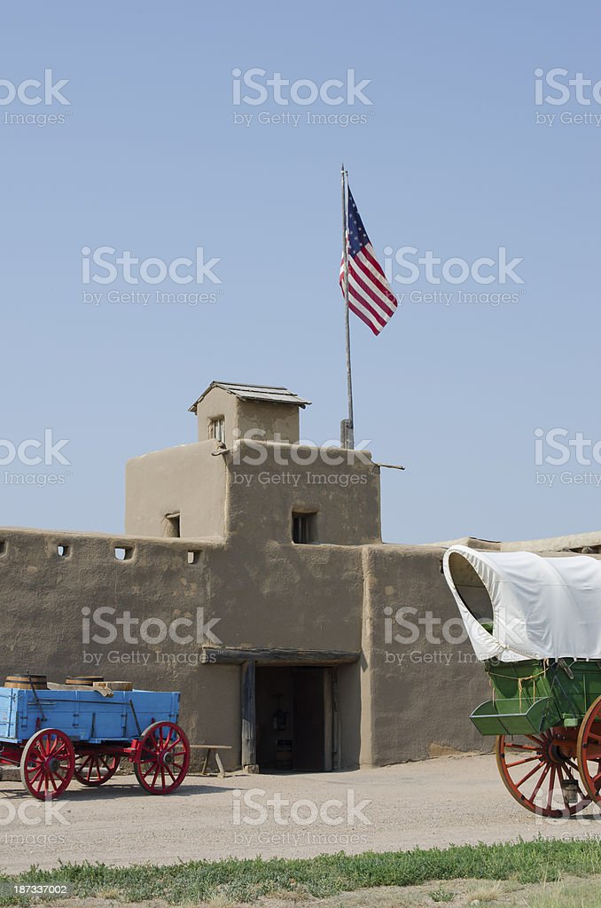 Bent's Old Fort National Historic Site stock photo