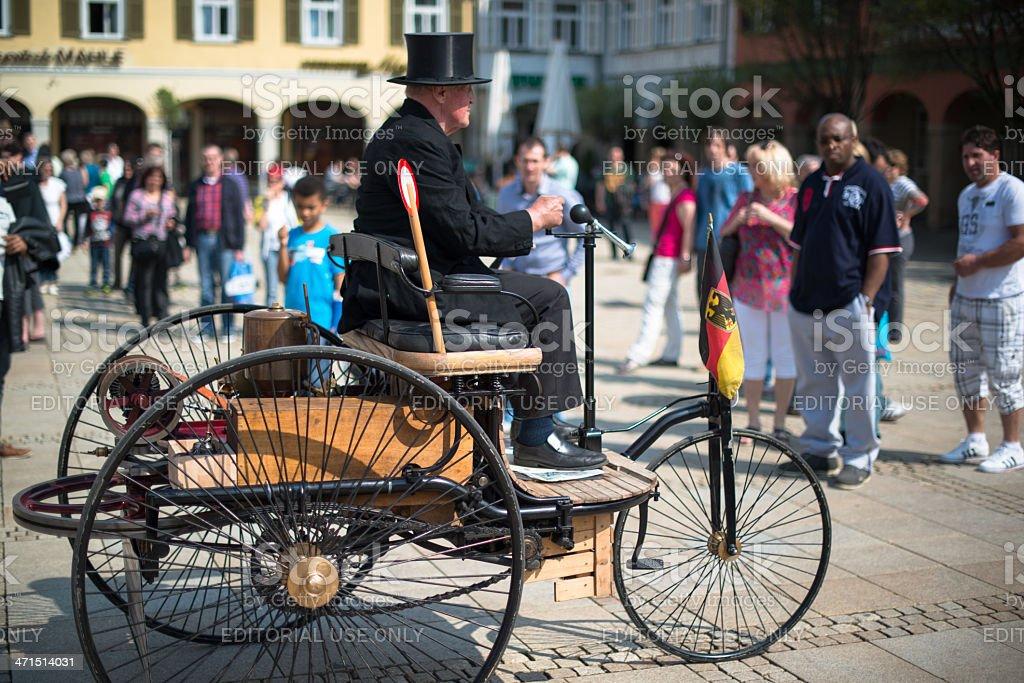 Benz Patent-Motorwagen stock photo