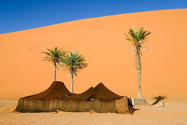 Berberowie camp w Sahara, Maroko – zdjęcie