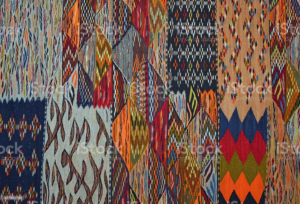Berber motif, Morocco stock photo