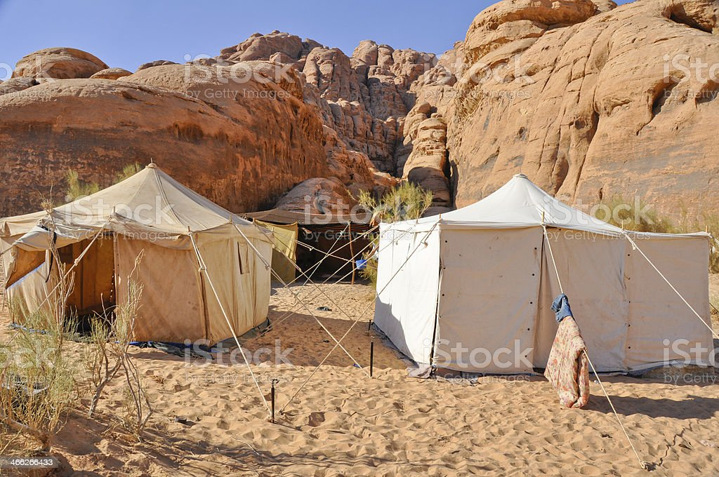 berber tent in the wadi rum desert stock photo more pictures of