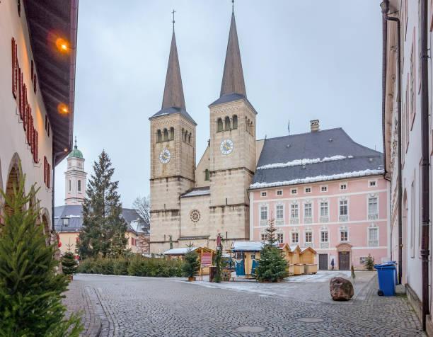 Berchtesgaden in Bavaria stock photo