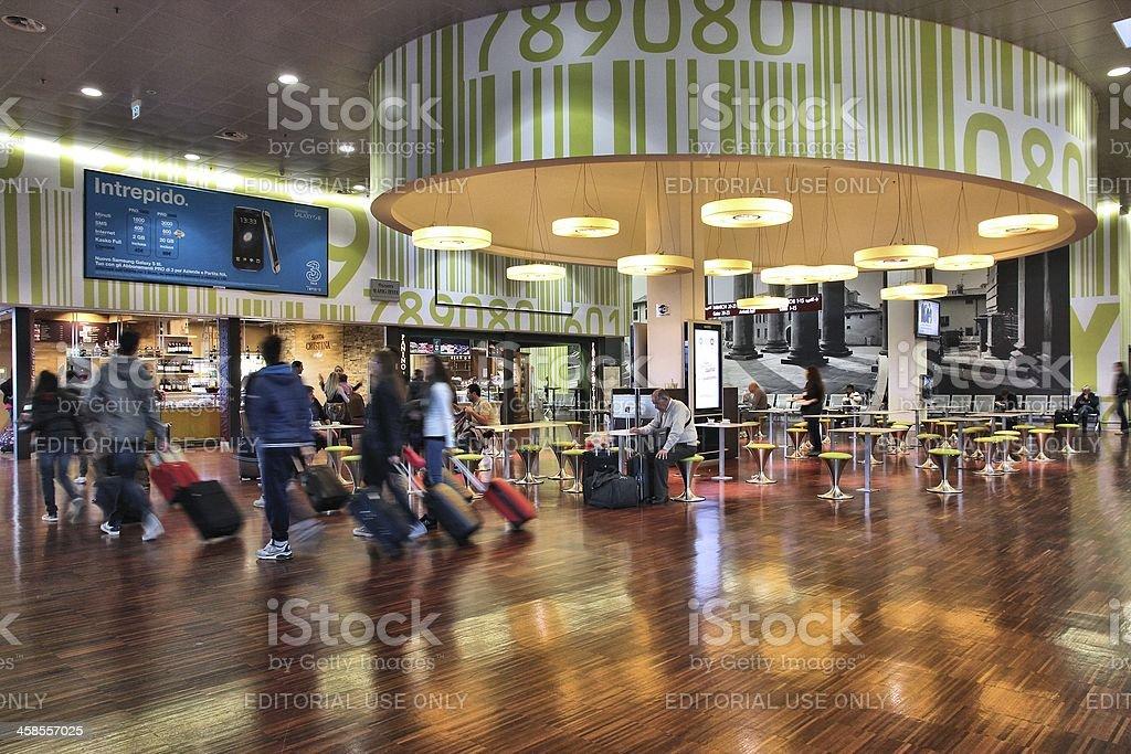 Aeropuerto de Bergamo - foto de stock