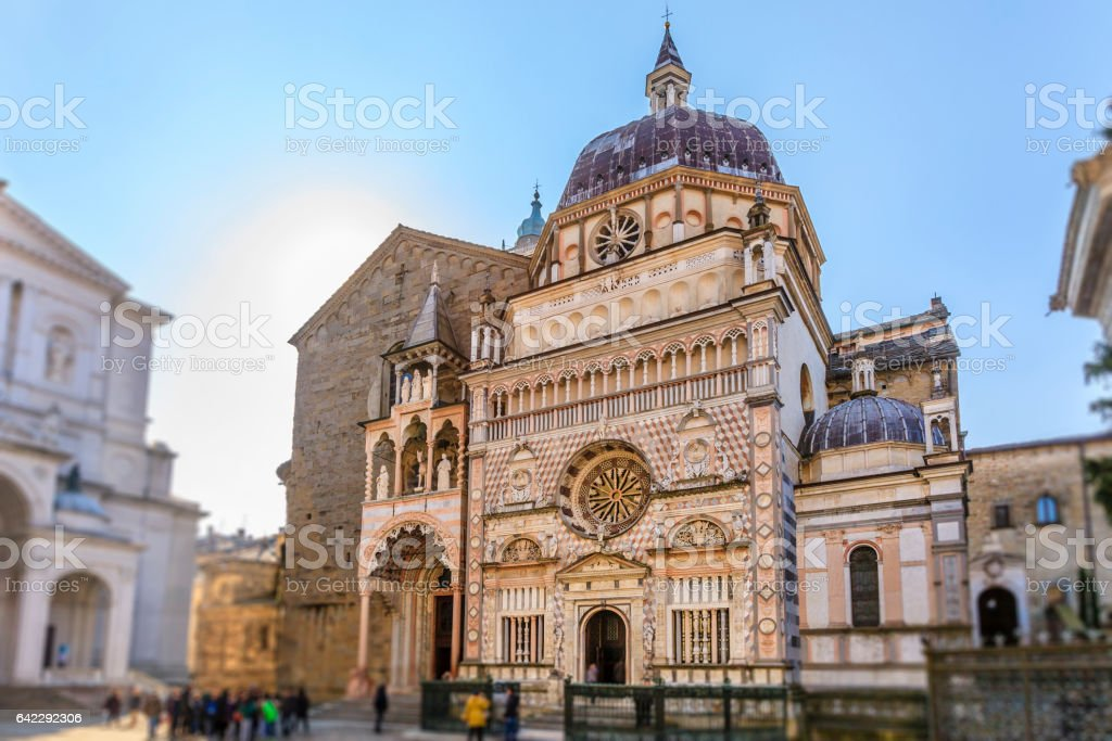 Bergamo, Cappella Colleoni - Italy stock photo